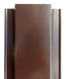 Металлический штакетник 136 мм